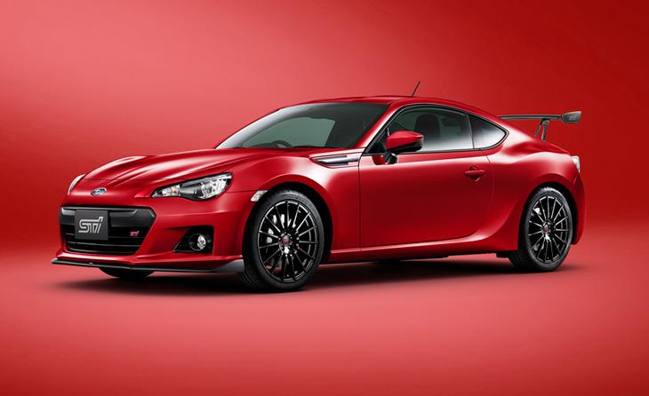 Subaru Brz Sti Ts Gt Red