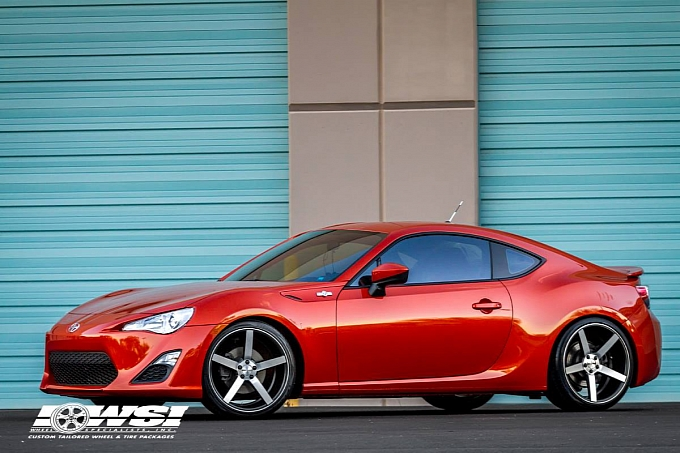Scion Fr S On Vossen Wheels Frs Brz Performance