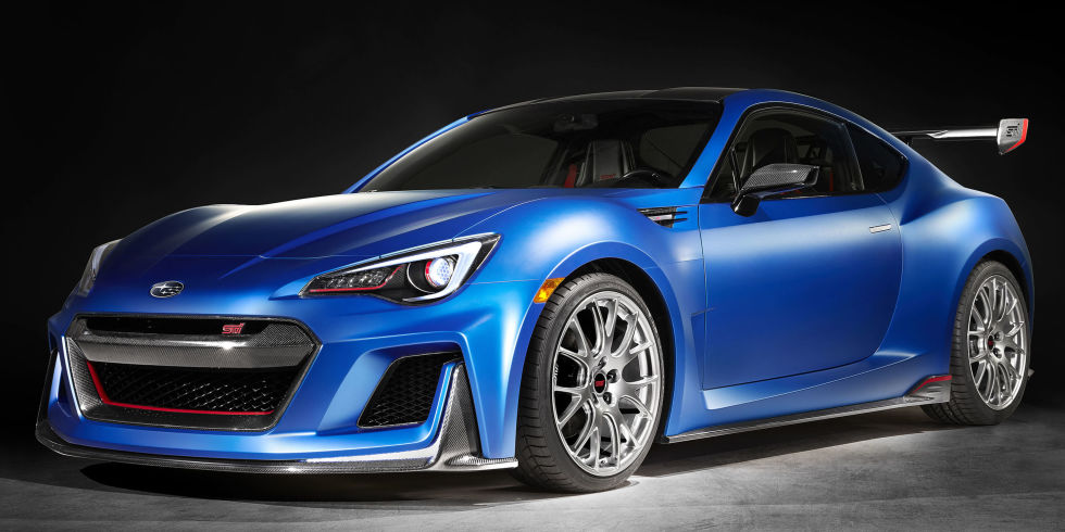 2016 subaru brz sti shows up at new york auto show but what does it mean for production 2016. Black Bedroom Furniture Sets. Home Design Ideas