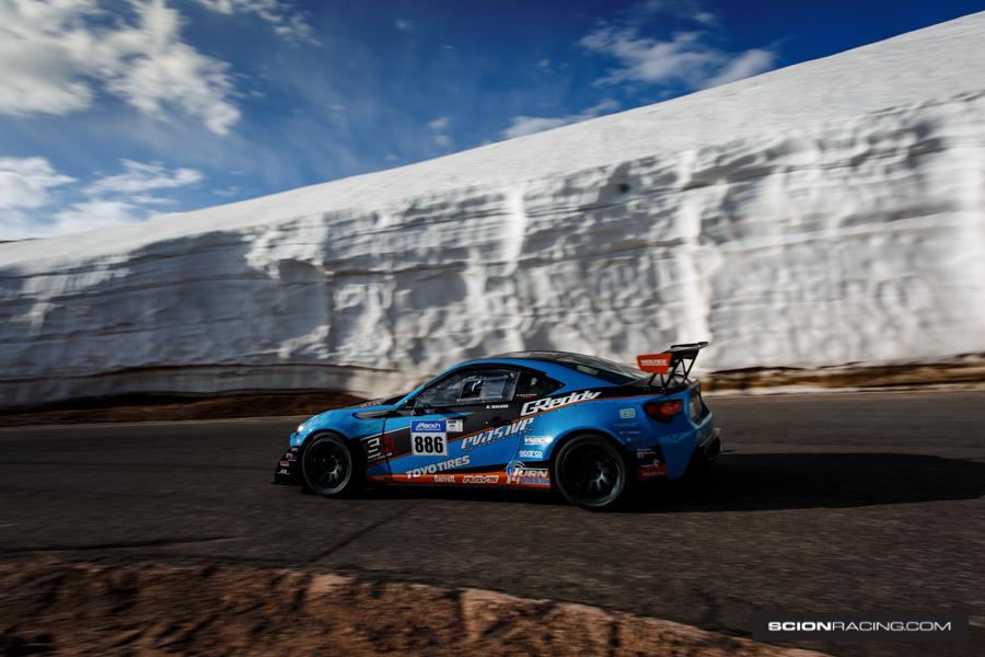 Mackin Scion FR-S at Pikes Peak 2016